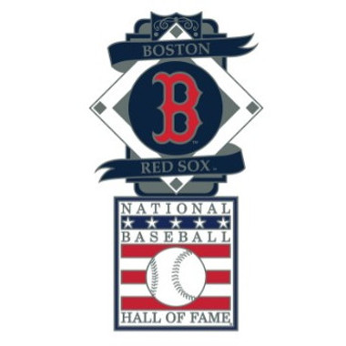 Boston Red Sox Baseball Hall of Fame Logo Exclusive Collector's Pin