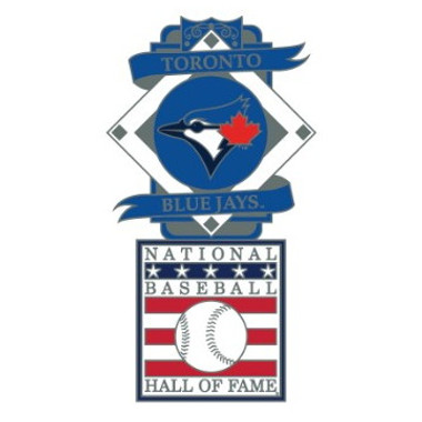 Toronto Blue Jays Baseball Hall of Fame Logo Exclusive Collector's Pin