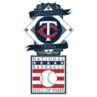 Minnesota Twins Baseball Hall of Fame Logo Exclusive Collector's Pin