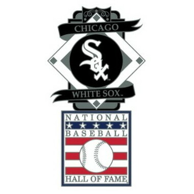 Chicago White Sox Baseball Hall of Fame Logo Exclusive Collector's Pin