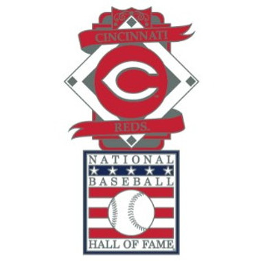 Cincinnati Reds Baseball Hall of Fame Logo Exclusive Collector's Pin