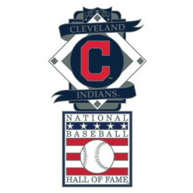 Cleveland Indians Baseball Hall of Fame Logo Exclusive Collector's Pin