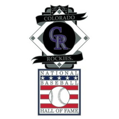 Colorado Rockies Baseball Hall of Fame Logo Exclusive Collector's Pin