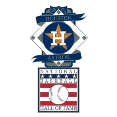 Houston Astros Baseball Hall of Fame Logo Exclusive Collector's Pin