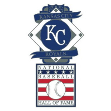 Kansas City Royals Baseball Hall of Fame Logo Exclusive Collector's Pin