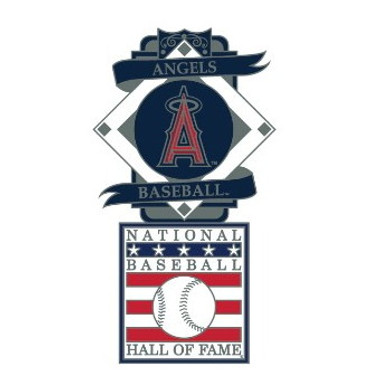 Los Angeles Angels Baseball Hall of Fame Logo Exclusive Collector's Pin