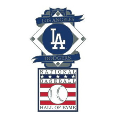 Los Angeles Dodgers Baseball Hall of Fame Logo Exclusive Collector's Pin