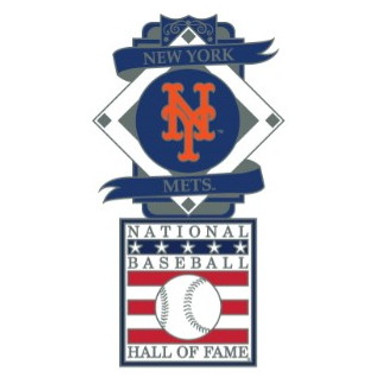 New York Mets Baseball Hall of Fame Logo Exclusive Collector's Pin