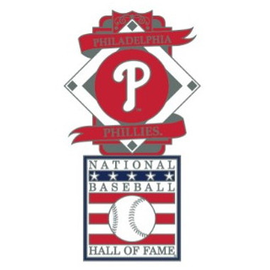 Philadelphia Phillies Baseball Hall of Fame Logo Exclusive Collector's Pin