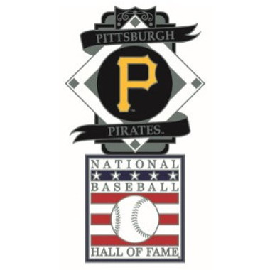 Pittsburgh Pirates Baseball Hall of Fame Logo Exclusive Collector's Pin