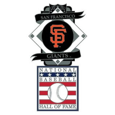 San Francisco Giants Baseball Hall of Fame Logo Exclusive Collector's Pin