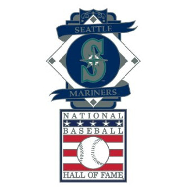 Seattle Mariners Baseball Hall of Fame Logo Exclusive Collector's Pin