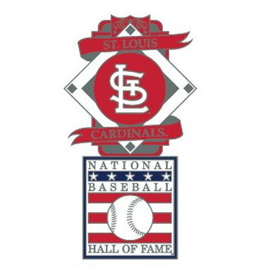 St. Louis Cardinals Baseball Hall of Fame Logo Exclusive Collector's Pin