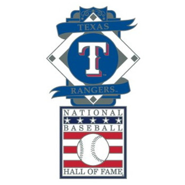 Texas Rangers Baseball Hall of Fame Logo Exclusive Collector's Pin