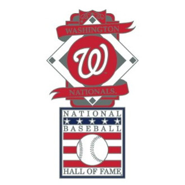Washington Nationals Baseball Hall of Fame Logo Exclusive Collector's Pin
