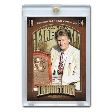 Steve Carlton 2013 Panini Cooperstown Induction Card # 8