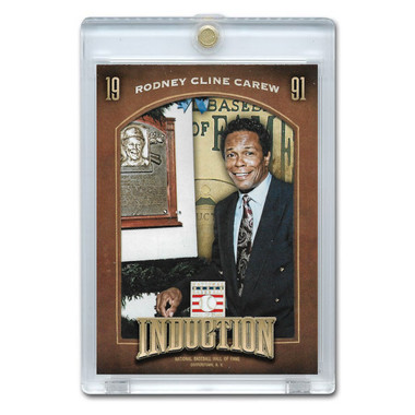 Rod Carew 2013 Panini Cooperstown Induction Card # 18