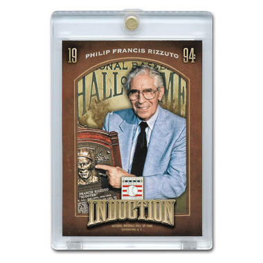 Phil Rizzuto 2013 Panini Cooperstown Induction Card # 4