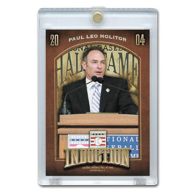 Paul Molitor 2013 Panini Cooperstown Induction Card # 15