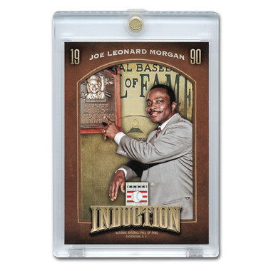Joe Morgan 2013 Panini Cooperstown Induction Card # 2