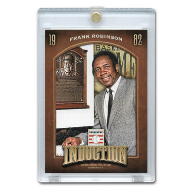 Frank Robinson 2013 Panini Cooperstown Induction Card # 1