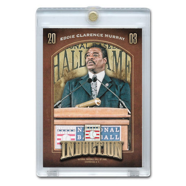 Eddie Murray 2013 Panini Cooperstown Induction Card # 11
