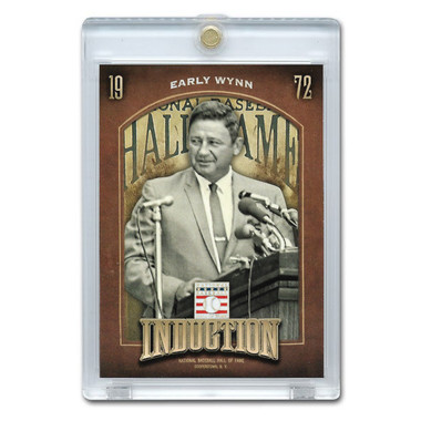 Early Wynn 2013 Panini Cooperstown Induction Card # 17