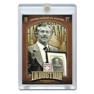 Catfish Hunter 2013 Panini Cooperstown Induction Card # 20