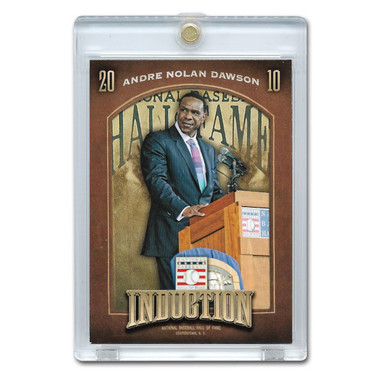 Andre Dawson 2013 Panini Cooperstown Induction Card # 9