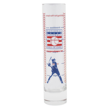 Baseball Hall of Fame Grand Slam 12 oz Shot Glass