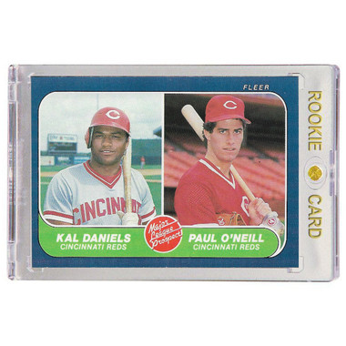 Paul O'Neill Cincinnati Reds 1986 Fleer # 646 Rookie Card