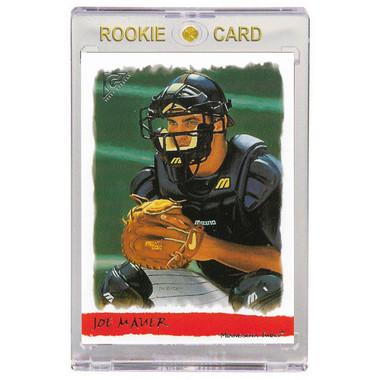 Joe Mauer Minnesota Twins 2002 Topps Gallery # 186 Rookie Card