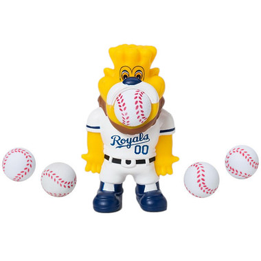 Hog Wild MLB Kansas City Royals Sluggerrr Sqeeze Popper