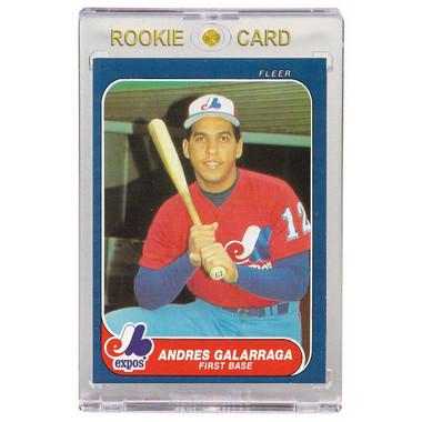 Andres Galarraga Montreal Expos 1986 Fleer Update # 12 Rookie Card