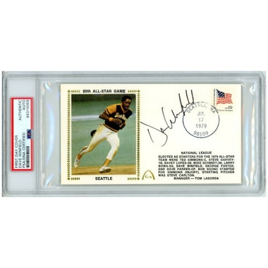 Dave Winfield Autographed First Day Cover - 1979 All-Star Game 50th Anniversary (PSA)