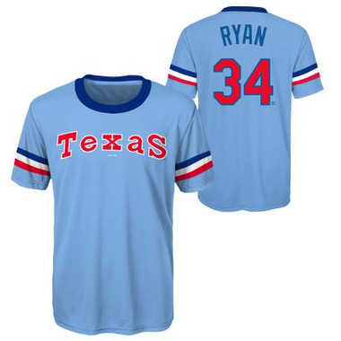 Youth Nolan Ryan Texas Rangers Cooperstown Collection Jersey Tee