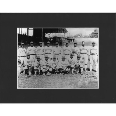 Matted 8x10 Photo- Chicago American Giants 1920