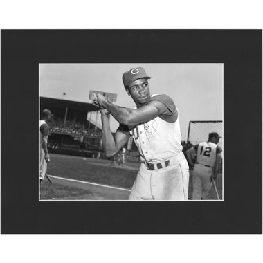 Matted 8x10 Photo- Frank Robinson 1956