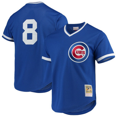 Men's Mitchell & Ness Andre Dawson 1987 Chicago Cubs Batting Practice Cooperstown Jersey