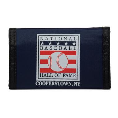 Baseball Hall of Fame Nylon Trifold Wallet