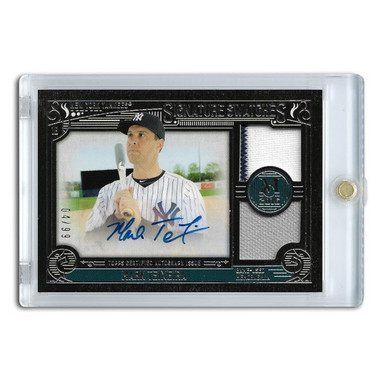 Mark Teixeira Autographed Card 2016 Topps Museum Signature Swatches Ltd Ed of 99