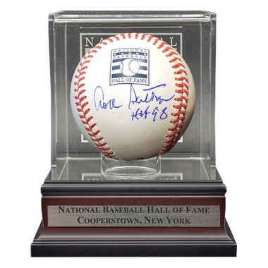Don Sutton Autographed Hall of Fame Logo Baseball with Case (JSA)