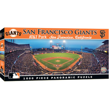 MasterPieces San Francisco Giants AT&T Park 1000 Piece Panoramic Puzzle