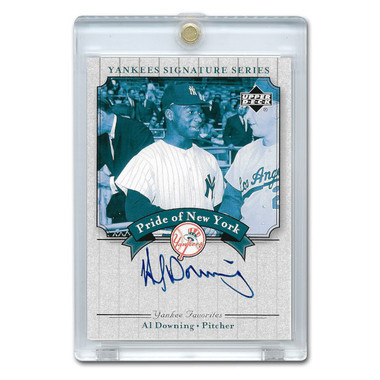 Al Downing Autographed Card 2003 Upper Deck Yankees Signature Series #PN-AD