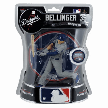 """Los Angeles Dodgers Cody Bellinger Import Dragon Limited Edition of 3,600 Rookie of the Year 6"""" Figure"""