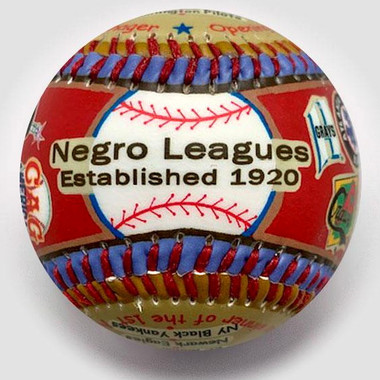 Negro Leagues Unforgettaballs Limited Commemorative Baseball with Lucite Gift Box