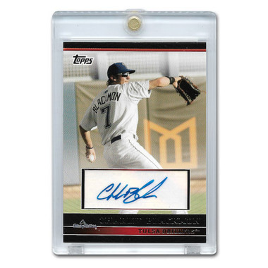 Charlie Blackmon Autographed Card 2010 Topps Pro Debut #PDA-CB