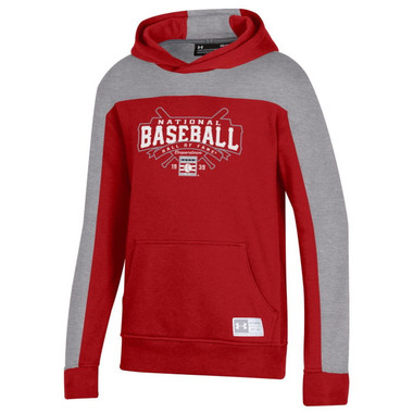 Youth Under Armour Baseball Hall of Fame Fleece Gameday Red Hood