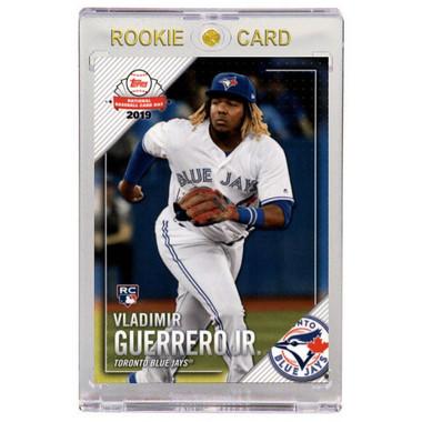Vladimir Guerrero Jr. Toronto Blue Jays 2019 Topps National Card Day #NTCDG-2 Rookie Card