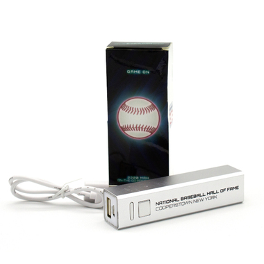National Baseball Hall of Fame Portable Phone Charger